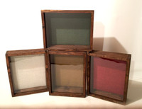 Shadow Box - Artisan Rustic  Espresso