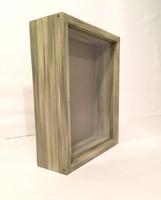 "Shadow Box - Artisan Rustic -14""W x 16""H x 4""D Rustic Green"