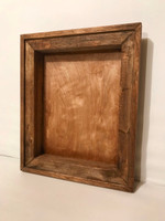 "Decorative Frame Shadow Box - 16"" x 16"" x 4"""