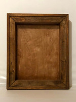 "Shadow Box with Decorative Wood Frame - 18"" x 24"""