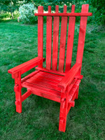 Event Decor Rental| Lumberjack Adirondack Chair
