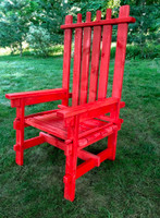 Rental Lumberjack Adirondack Chair