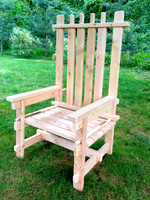 Wooden Adirondack Chair | Event Decor Rental