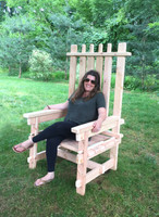 Lumberjack Adirondack Chair | Event Decor Rental
