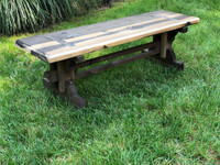Artisan Wooden Bench