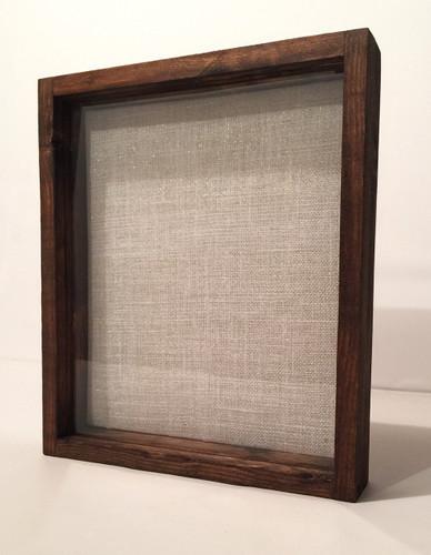 """Shadow Box - Artisan Rustic -16""""W x 20""""H x 1""""D Espresso"""