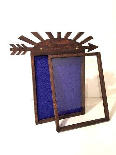 "Arrow of Light Cub Scout Shadow Box - Artisan Rustic - 14"" W x 18"" H x 1"" D"