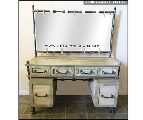 Artisan Farmhouse Makeup Vanity
