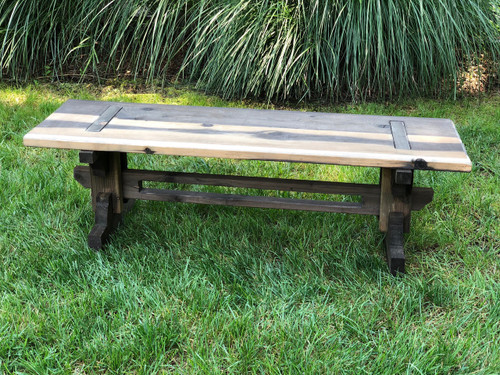 Rustic Garden Bench | Event Rental