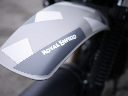 Royal Enfield Text Decals