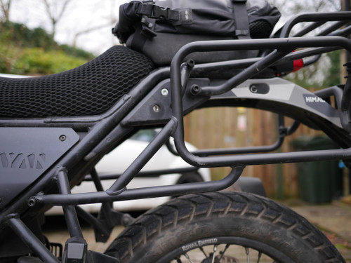 Black Pannier Bolt Kit
