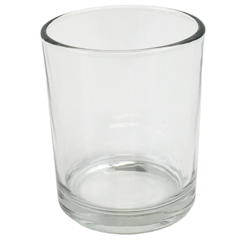 "Clear Glass  2.88""h"
