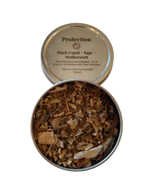 Protection Blend - Loose Incense 2 oz Tins