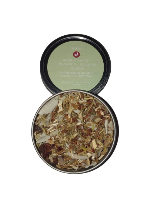 Money - Blend of Herbs and Resins