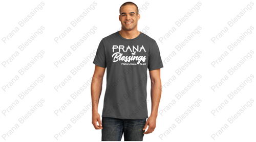 Prana Blessings Logo Wear Charcoal