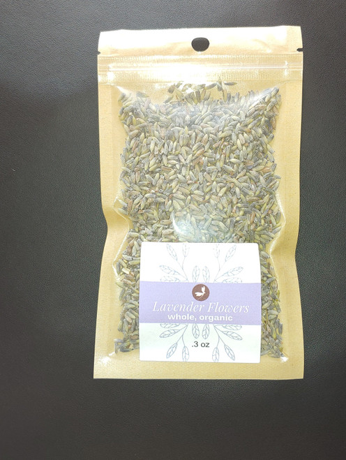 Lavender Flowers, Whole and Organic