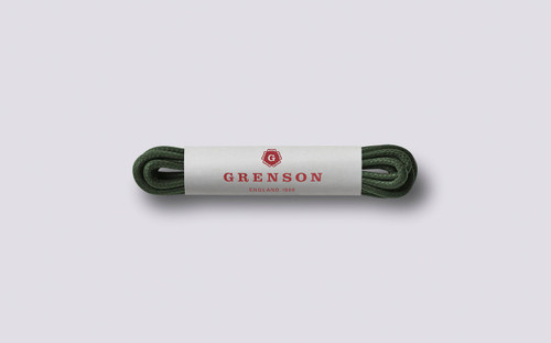 Grenson Forest Green Shoe Laces - Main