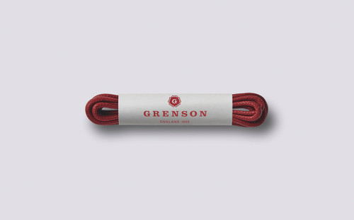 Grenson Red Shoe Laces - Main