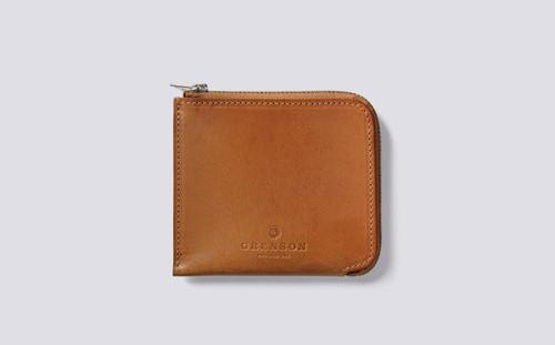 Grenson Zip Around Wallet