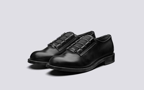 CRAIG GREEN + Grenson | Slip on Shoes for Men in Black | Grenson - Main View