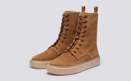 Sneaker 40 | Sneaker Boots for Men in Snuff Suede | Grenson - Main View