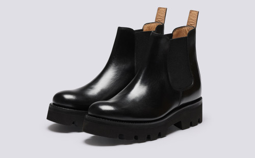 Tamsin | Chelsea Boots for Women in Black Colorado | Grenson - Main View