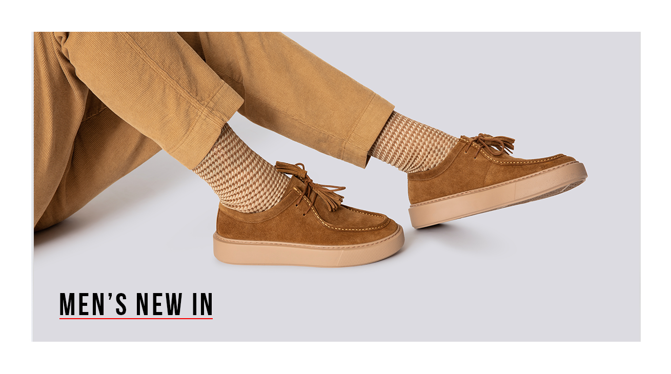 Shop the Grenson Men's New In Collection