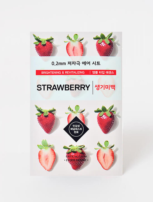 ETUDE HOUSE 0.2mm Therapy Air Mask (Strawberry)