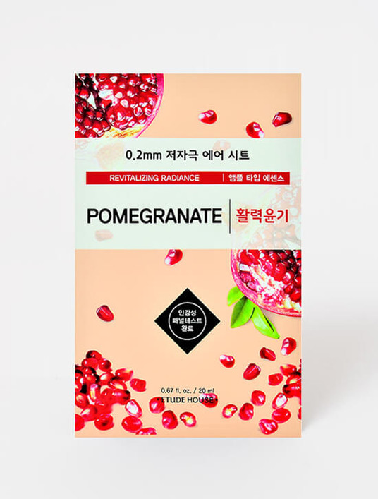 ETUDE HOUSE 0.2mm Therapy Air Mask (Pomegranate)