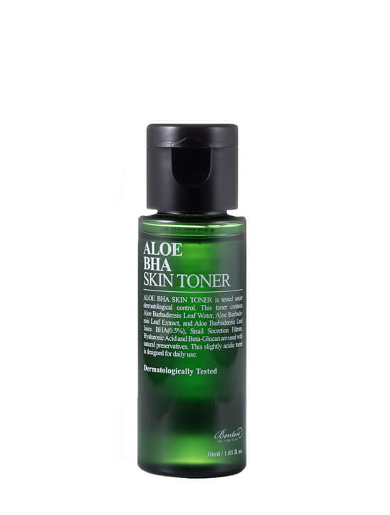 BENTON Aloe BHA Skin Toner 30ml (Travel Size)
