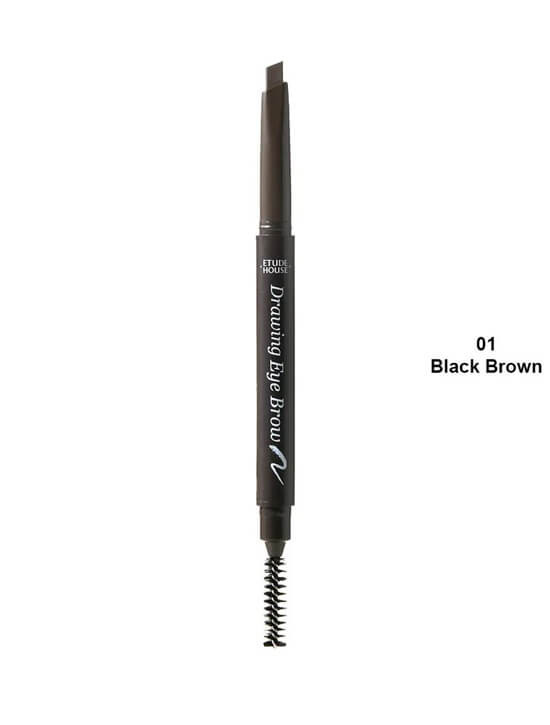ETUDE HOUSE Drawing Eye Brow (7 Colours)  -1 BLACK BROWN