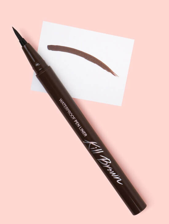 CLIO Waterproof Pen Liner - Kill Brown