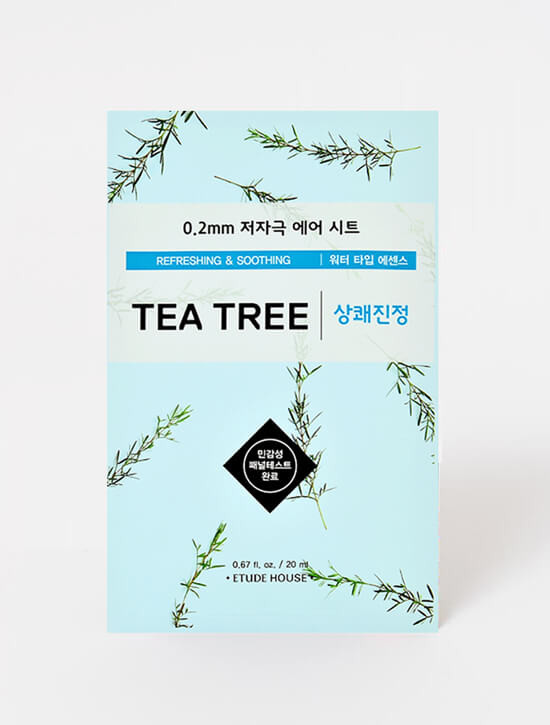 ETUDE HOUSE 0.2mm Therapy Air Mask (Tea Tree)