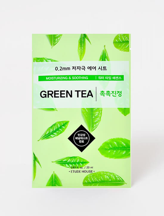 ETUDE HOUSE 0.2mm Therapy Air Mask (Green Tea)
