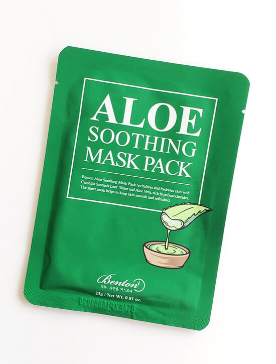 BENTON Aloe Soothing Mask Pack