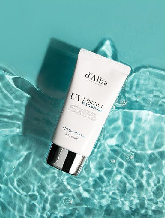 D'ALBA PIEDMONT Waterfull Essence Sun Cream 50ml