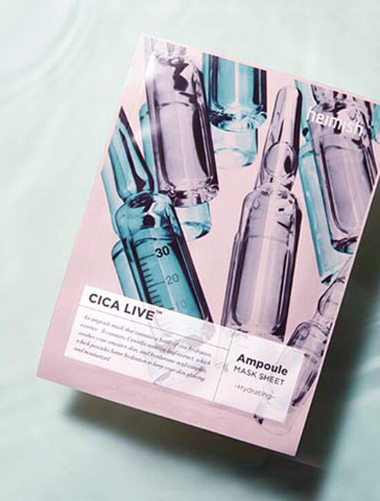 HEIMISH Cica Live Ampoule Mask Sheet 30ml