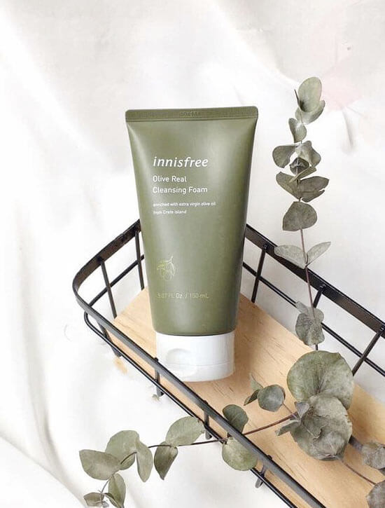 INNISFREE Olive Real Cleansing Foam 150ml 2019 NEW