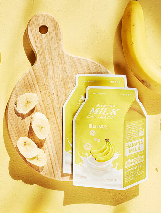 APIEU Banana Milk Sheet Mask (Nourishing)