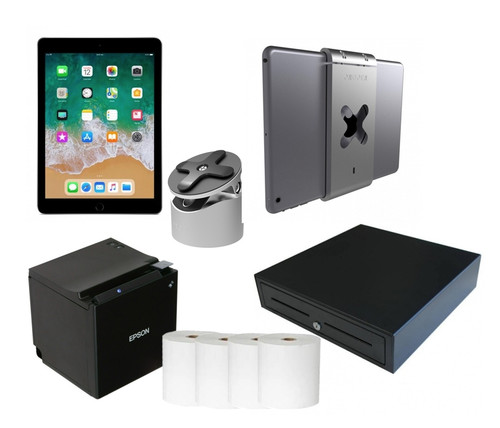 APPLE IPAD 9.7 INCH POS BUNDLE - BLUETOOTH PRINTING WITH CHARGING FEATURE