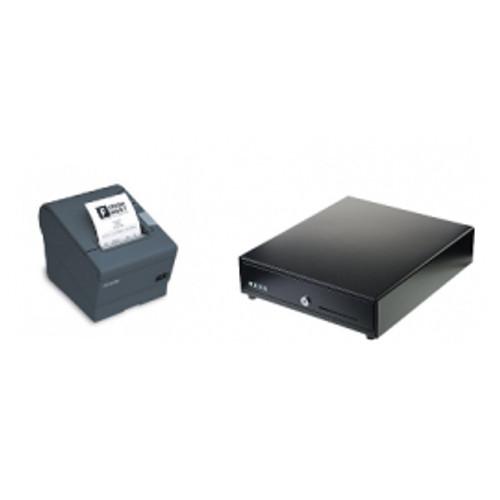 Epson TM-T20X Ethernet Receipt Printer  + Standard Cash Drawer)