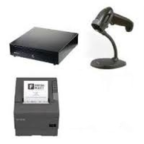 Bundle#13 (TM-T88VI SER/USB/ETH Printer +1250G Voyager Scanner + CB900 Cash Drawer)