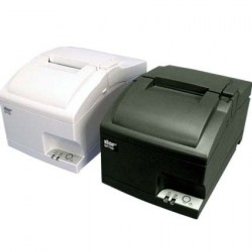 Star SP742 Ethernet Receipt Impact Printer with Auto Cutter - Image shows Black & White printers