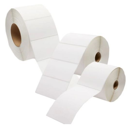 40mm x 28mm - Thermal Transfer - synthetic- 25MM CORE - 1500- Non perforated Labels