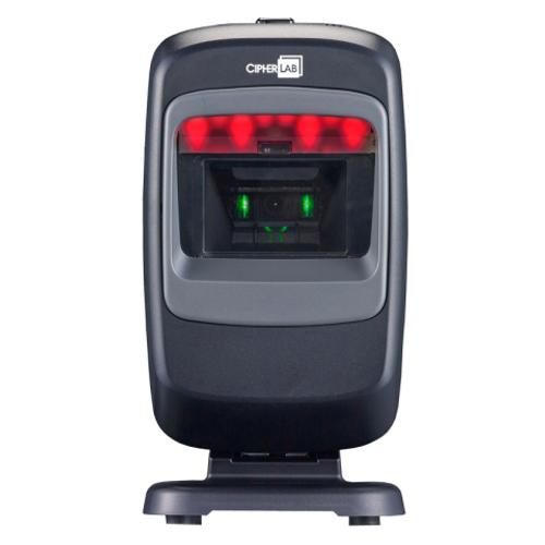 CipherLab 2200 2D Desktop Barcode Scanner Blakc with USB Interface