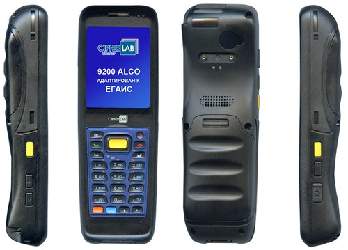 CIPHER 9200 LASER RFID USB TRANSFLECT. All units include WEH6.5 Wi-Fi GPS 3G QVGA BT 3300mAh battery and camera