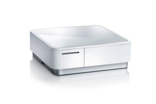 mPOP-White Mobile Point of Purchase Solution - includes Cash Drawer & Receipt Printer