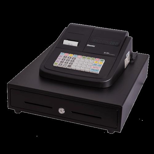 SAM4S ER-180U Basic Cash Register with Th Pr Large Drawer