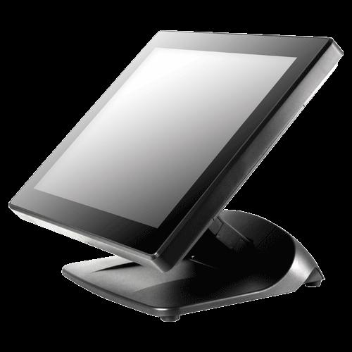 "POSIFLEX 15"" LCD PCAP Touch Monitor Black USB"