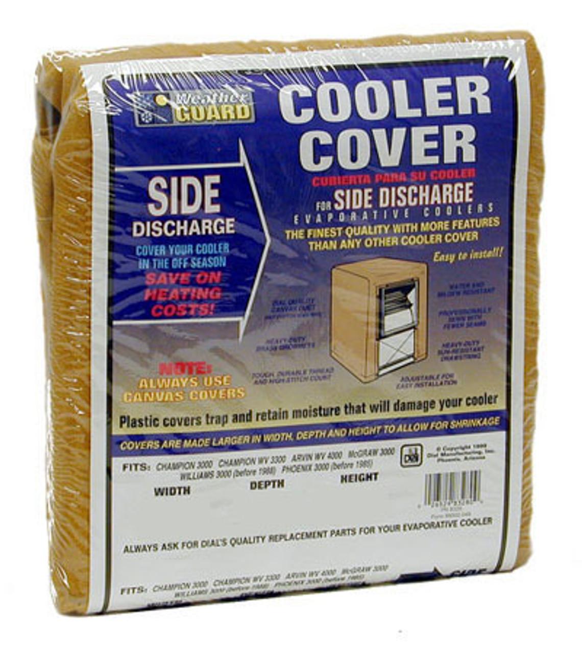Cooler Covers - Sidedraft